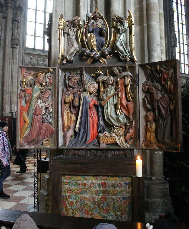 Vienna Cathedral. Interiors