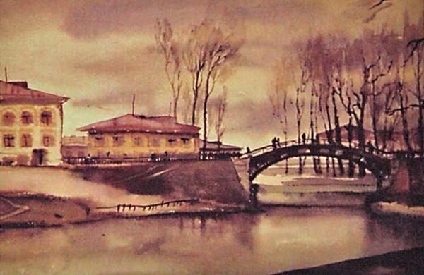 Плотина. 1930-е.