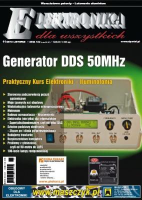 Журнал Elektronika Dla Wszystkich №11 2013