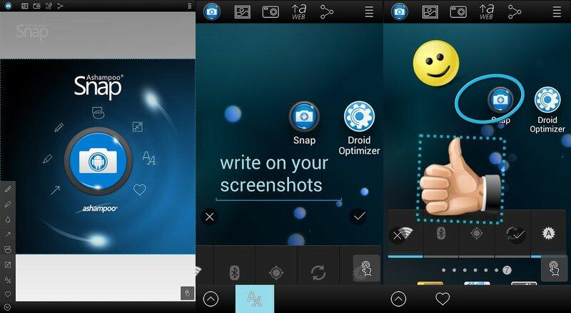 Screenshot Snap Free для Android