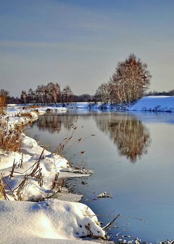 Зимние пейзажи фото