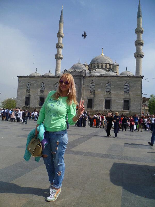 Стамбул, Новая мечеть (Istanbul, The New Mosque)