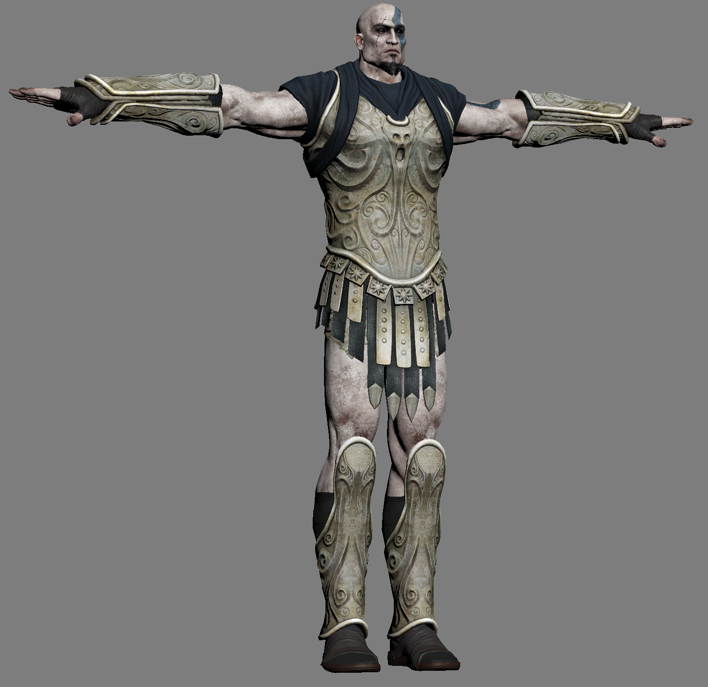 god of war 3 models