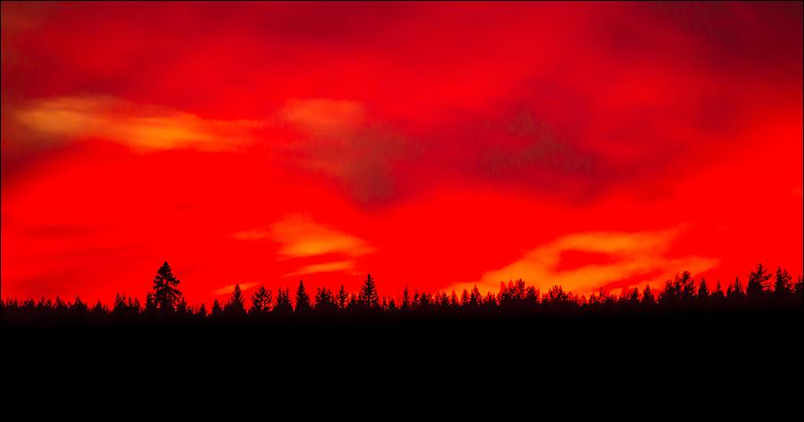 Финляндия в огне