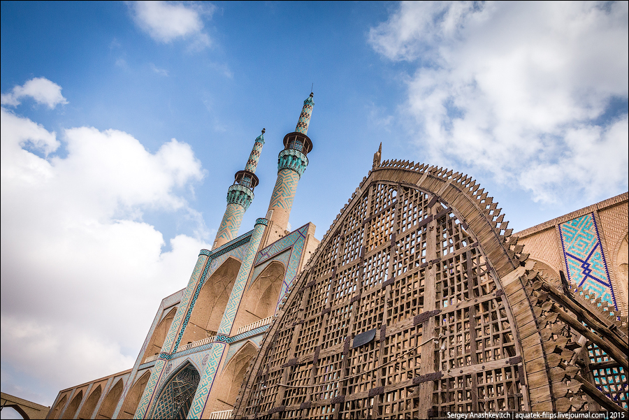 Мечети Язда