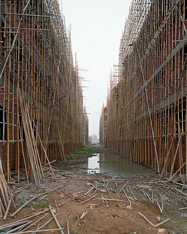 Factory Construction, Outside Shenzhen,Guangdong Province, 2004