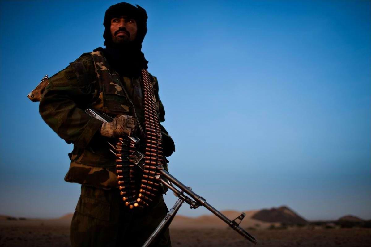 Воинственные североафриканские туареги на снимках фотографа из ЮАР Brent Stirton (18)