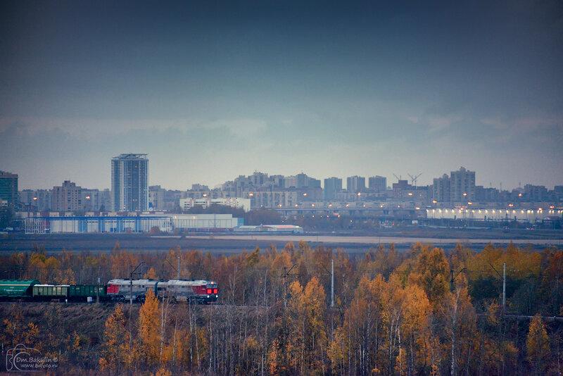 С Пулковских высот