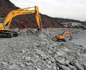 Строительство нового полигона ТБО во Владивостоке привело ко второму Горностаю