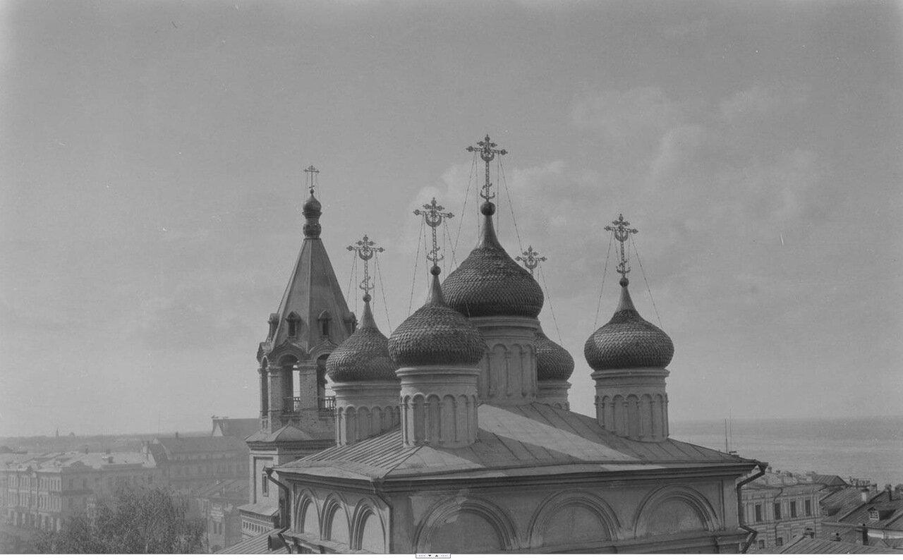 14. Нижний Новгород. Купола церкви Иоанна Крестителя