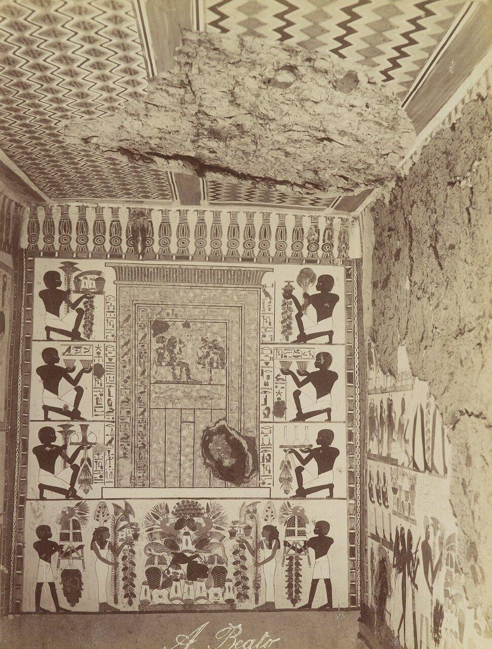 Гробница Нахт в Фивах