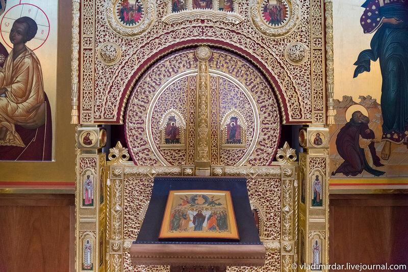 Алтарные врата Храма Вознесения Господня в Коломенском