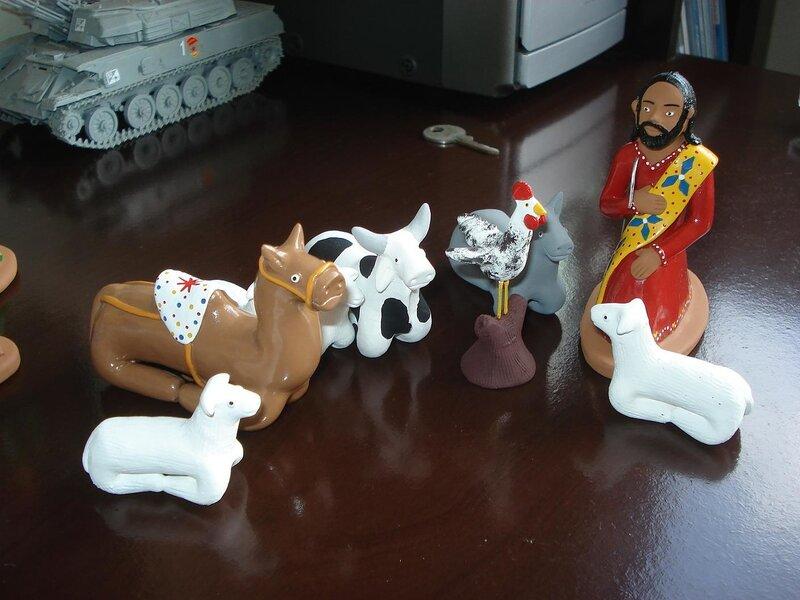 Пастух и скот