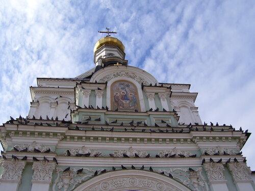 Вход в  Троице-Сергиеву Лавру