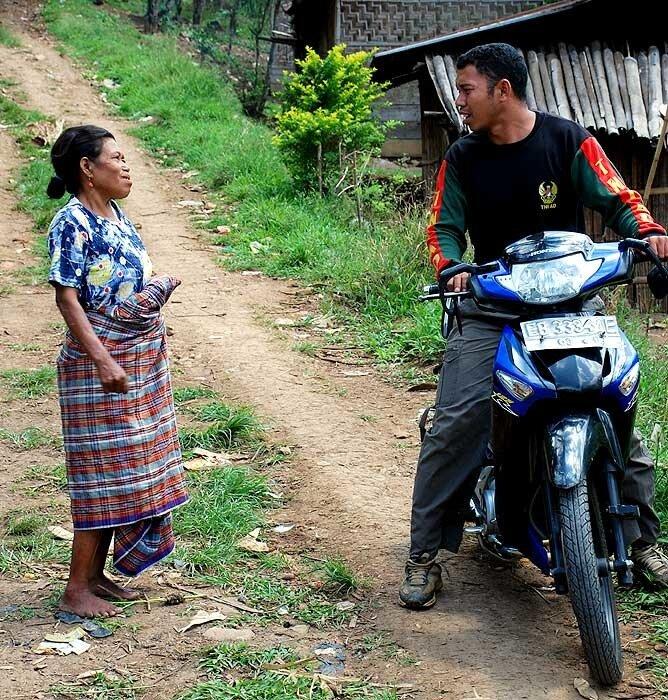 В деревне Рампасаса