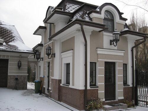 Стен дома с помощью пенополистирола