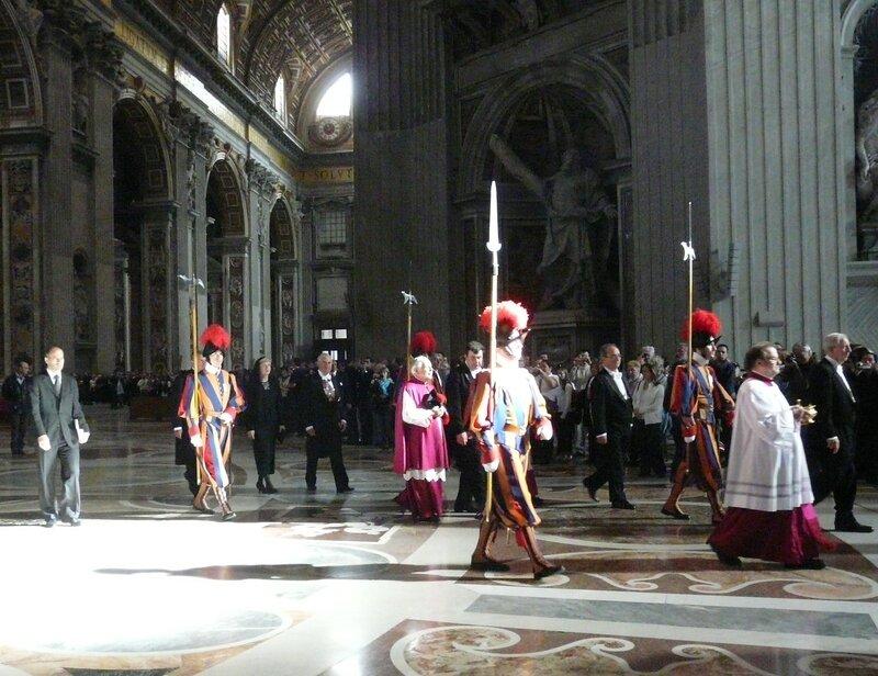 рассуждения Папы на аудиенции с римскими полицейскими