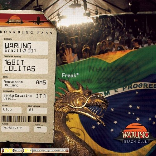 Warung Brazil 001 Mixed By 16 Bit Lolitas 2CD (2008)