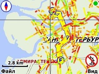 Мобильные Карты и Пробки от @MAIL.RU