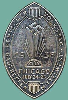 Значок члена Германо-Американского Союза