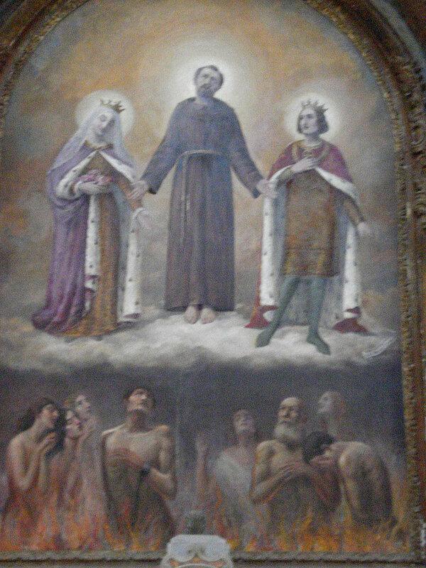 012-святые Франциск, Людовик и Изабелла Французские.jpg
