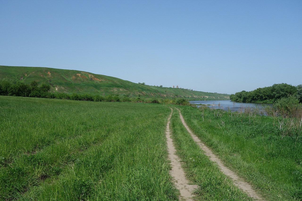берег Дона между Негачевками