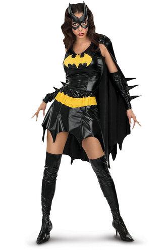 Женский карнавальный костюм Девушка Бэтмена
