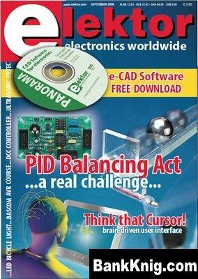 Журнал Elektor Electronics 2008 №09 pdf 11,5Мб