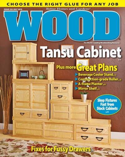 Журнал: Wood Magazine №233 (июль 2015)  [En]