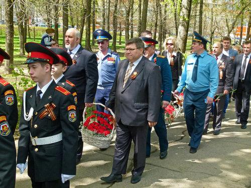 День Победы 70 лет, митинг в Солнцево