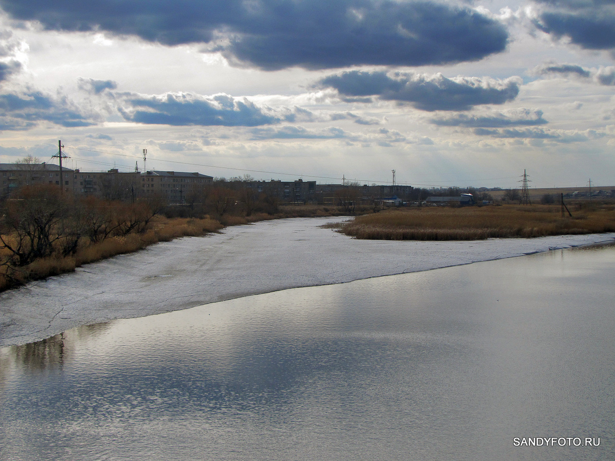 Обзор ледовой обстановки на Троицких реках 2015