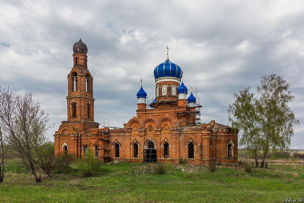Благовещенская церковь, деревня Клин-Бельдин