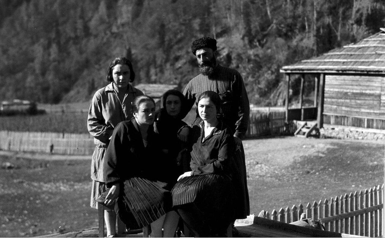 Герман Мемарнишвили со своей семьей