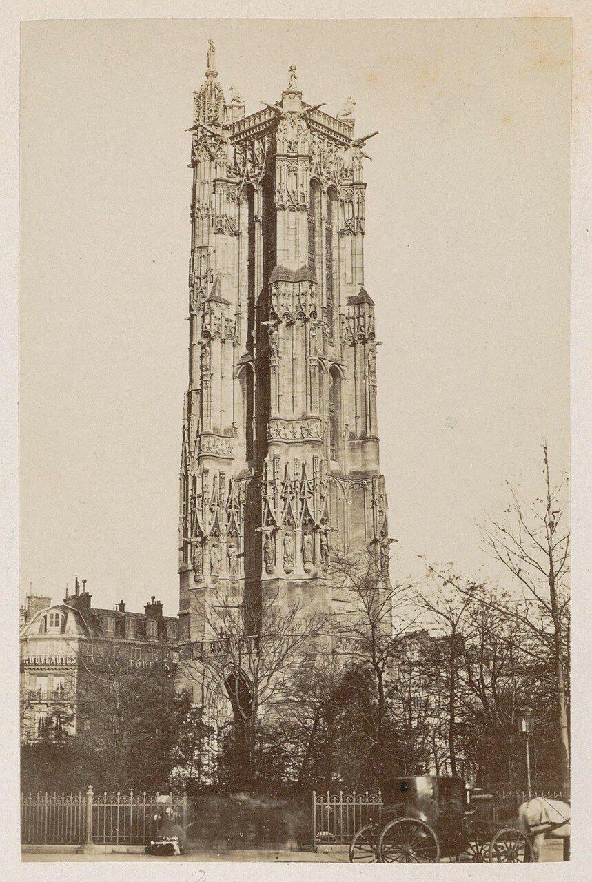1878. Башня Сен-Жак