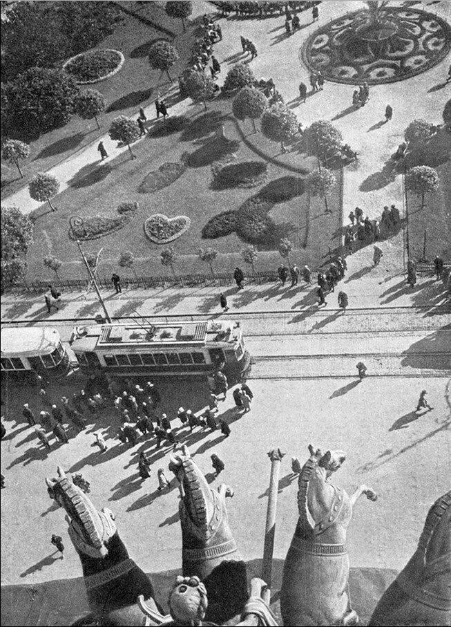 1930-е. С крыши Большого театра