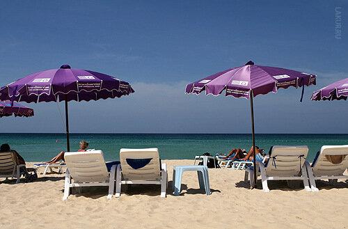 пляж 5 звезд океан жезлонг