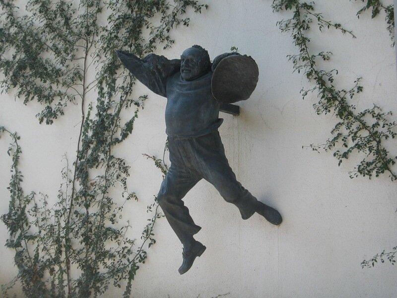 Сергей Параджанов. Скульптор - Важа Микаберидзе. Старый Тбилиси. Грузия