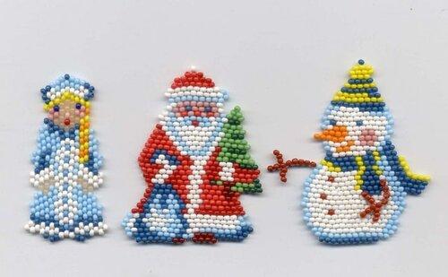 фигурки из бисера схемы плетения.