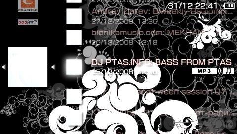 Музыка и подкасты на PSP через Wi-Fi