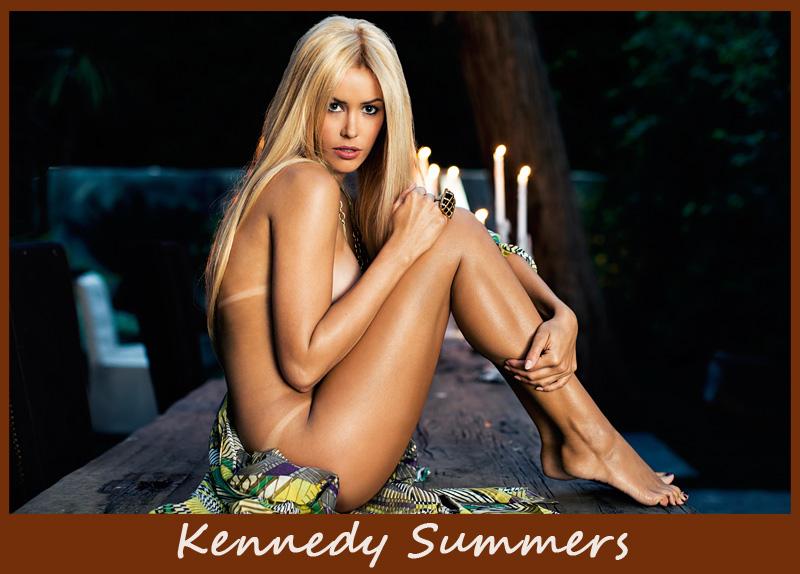 Американская модель Kennedy Summers
