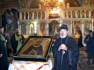 Icoana sfântului Serghie a ajuns la Fălești