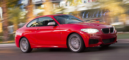 BMW представит М2 на Детройтском автосалоне