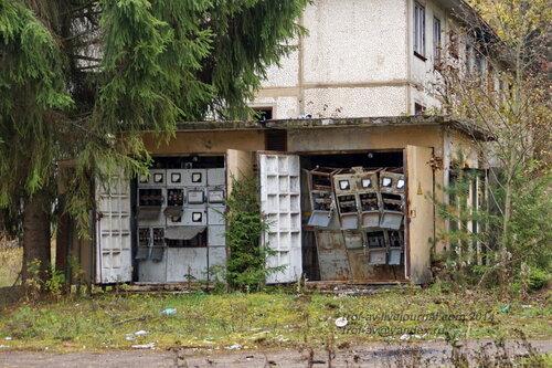 Разграбление базы ГО и ЧС, октябрь 2014