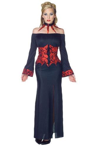 Женский карнавальный костюм Бессмертная вампирша