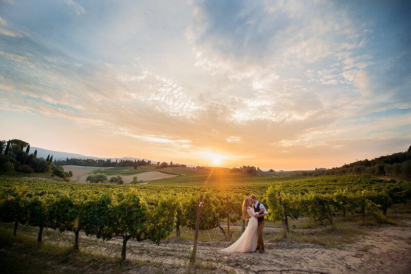 Свадебная фотосессия в Тоскане