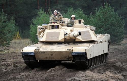 танк Абрамс