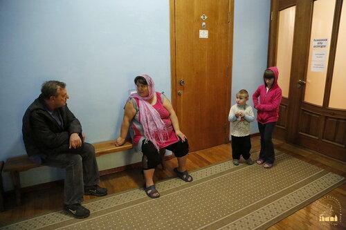 1. Беженцы в Святогорской Лавре