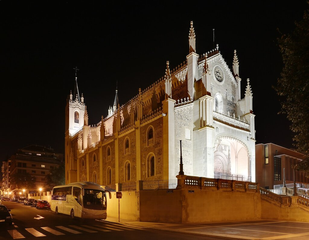 Мадрид. Церковь Сан Херонимо Эль Реал (Iglesia de San Jerónimo El Real)