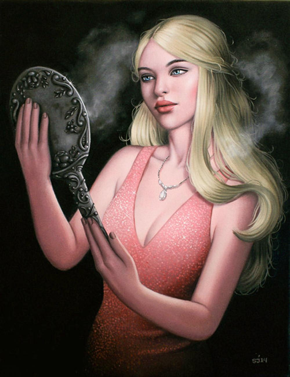 Загадочные девушки Сара Джонкас