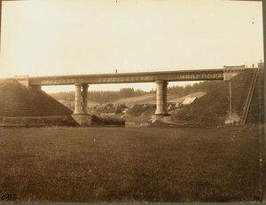 Вид на мост (отверстие 34,12 сажени, на 650-й версте).